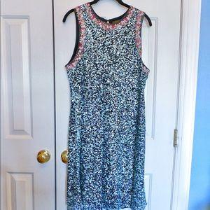 Anthropologie Sequin Dress Size 16